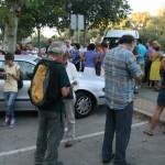 Fotografías de las concentración del 18S contra la privatización de la sanidad