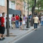Fotografías de la concentración contra la privatización de la sanidad. Sede de la Consejería de Sanidad en Córdoba.