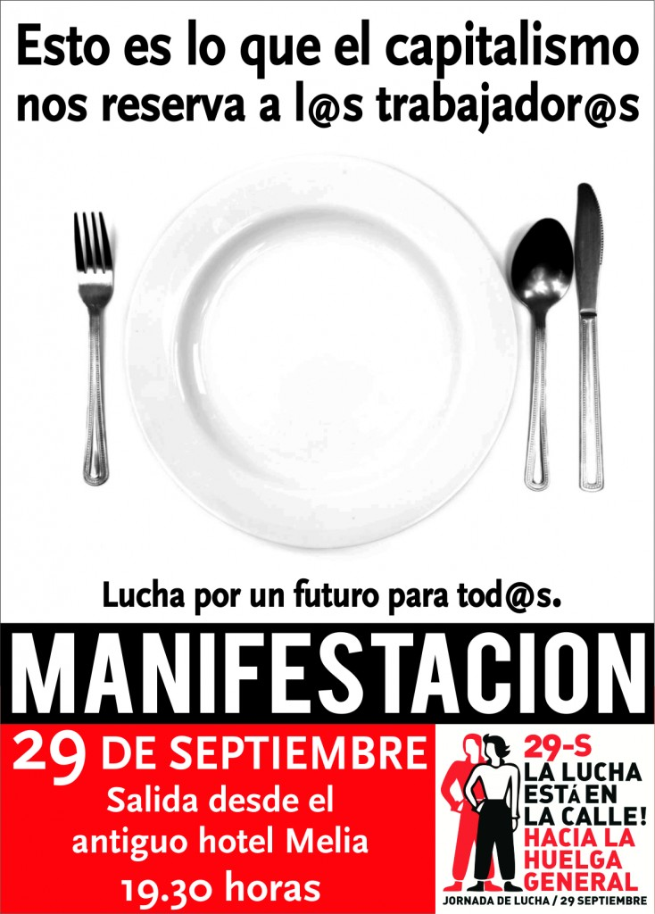 cartel manifestacion 29S
