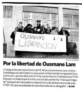 2011-11-Recorte Ousmane El Día de Córdoba