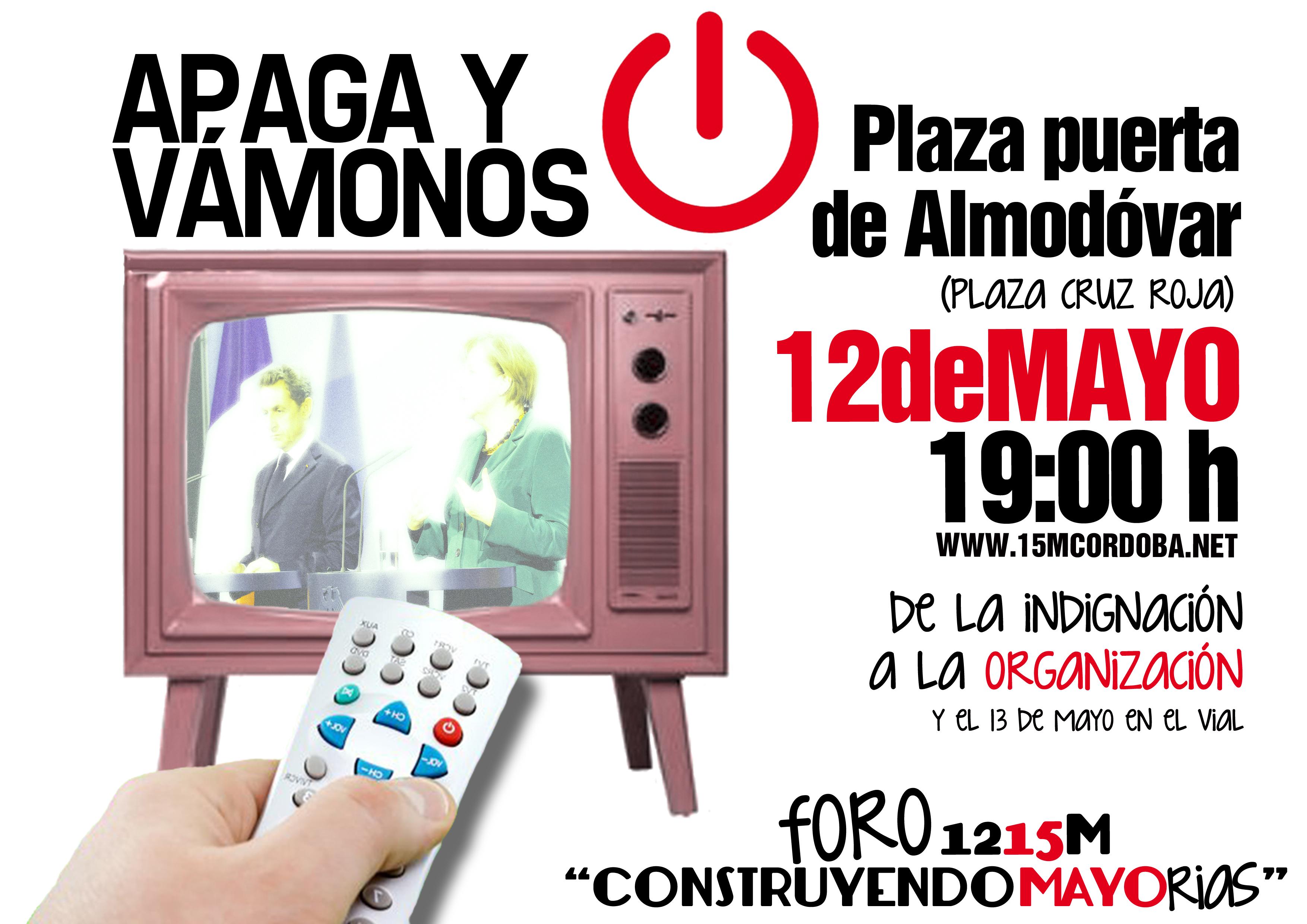 #12M15M: Frente al ataque a nuestros derechos y libertades. De la indignación a la organización.
