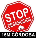 Logotipo Stop Desahucios y enlace a su web