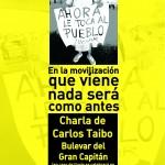 Charla de Carlos Taibo: En la movilización que viene nada será como antes