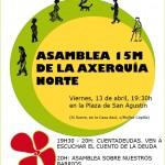 Asamblea 15M Axerquía Norte. Viernes 13 abril